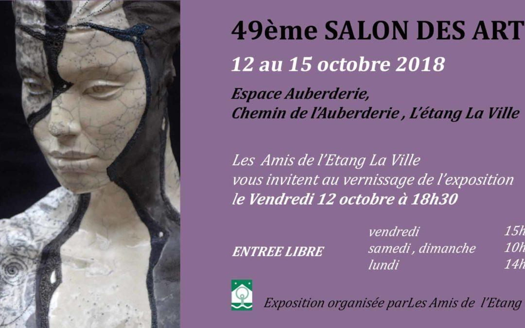 49ème SALON DES ARTS  de l'ETANG LA VILLE