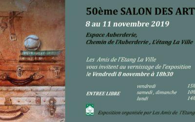 50 ème Salon des Arts de l'Etang la ville